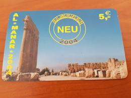Almanar 2004 -  5 Euro  - Historical Monument -  Little Printed  -   Used Condition - Deutschland