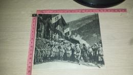 CO-8154 IL RE VITTORIO EMANUELE III AL BRENNERO PER CONSACRARE IL NUOVO CONFINE D'ITALIA SULLE ALPI NEL 1921 - Chromo
