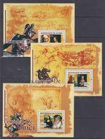 Q65. MNH Guinee 2007 Art Painting Leonard De Vinci 1452-1519 - Künste