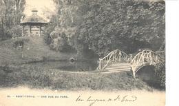 Saint Trond - Sint Truiden - CPA - Une Vue Du Parc - Sint-Truiden