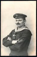 B2211 - 1. WK WW - Marine Matrose 1. Torpedo Div. Uniform  - Nachlaß Carl Creve Kamminke - Lesen !!! - War 1914-18