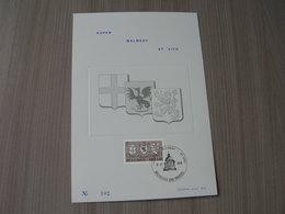 BELG.1970 1566 Mooie Herinneringskaart Met Eerste Dag Stempels - FDC