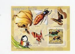 Sao Tome-2006-Abeille,papillo Ns-B329***mnh - Abeilles
