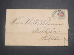 RUSSIE - Lettre Pour Westhophen En 1880 , Affranchissement Plaisant - L 14883 - 1857-1916 Empire