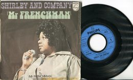 Shirley And Company 45t Vinyle Mr.Frenchman - Soul - R&B