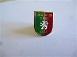 PINS SPORTS PETANQUE FFSB COMITE BOULISTE DU RHONE / 33NAT - Bowls - Pétanque