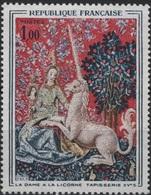 FRANCE Poste 1425 ** MNH Tableau La Dame à La Licorne Tapisserie Musée De Cluny - Frankrijk