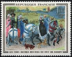 FRANCE Poste 1457 ** MNH Tableau Les Très Riches Heures Du Duc De Berry Enluminure Myen-Age - Frankreich