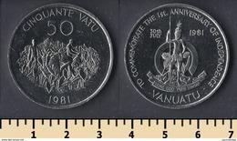 Vanuatu 50 Vatu 1981 - Vanuatu