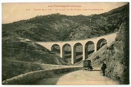 CPA 66 Pyrénées Orientales Vallée De La Têt Le Viaduc De Saint-Thomas Près De Fontpédrouse Animé - France