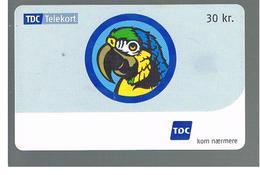 DANIMARCA (DENMARK)  -  2003    PARROT - USED ° - RIF. 10060 - Pappagalli