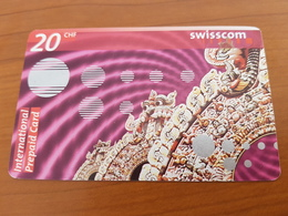 Prepaid Phonecard Card 20 Chf -  Swisscom  -  Fine Used - Schweiz