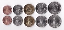 Vanuatu Set 5 Coins 2015 - Vanuatu