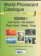 World Phonecard Catalogue - 3, Oceania. - Phonecards