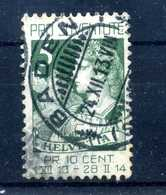 1913 SVIZZERA N.137 SET USATO - Suisse