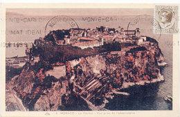 MONACO -Le Rocher - Vue Prise De L' Observatoire - Flamme   (103568) - Monaco