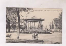 CPA DPT 78 ST QUENTIN, LE KIOSQUE AUX CHAMPS ELYSEES - St. Quentin En Yvelines