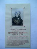 Portrait Authentique   De BERNADETTE SOUBIROUS - Religion & Esotérisme