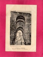 "33 Gironde, Bourg-sur-Gironde, Porte Dite ""Batailleyre"", Vue Intérieure, Animée, 1919, (Cadilhon) - France"