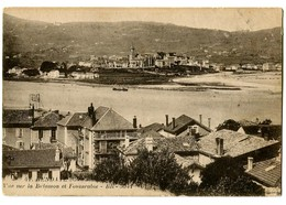 CPA 64 Pyrénées Atlantiques Hendaye Vue Sur La Bidassoa Et Fontarabie - Hendaye