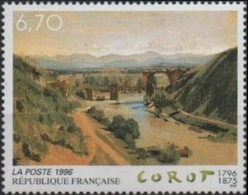 FRANCE Poste 2989 ** MNH Tableau Le Pont De Narni Oeuvre Originale De Jean-Baptiste Corot Bridge Brücke - France