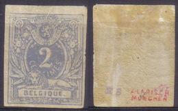 N· 27 NON Dentelé Et Signé - 1869-1888 León Acostado