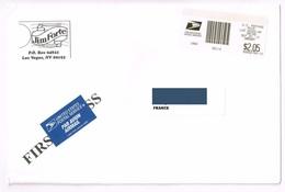 Cover Computer Vended Postage Stamps USPS Emblem From LAS VEGAS 09-20-2013 - Etats-Unis