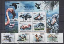 P05. Burundi - MNH - Animals - Birds - Birds
