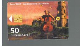 PORTOGALLO (PORTUGAL) - PT - 2001 MUSICIAN - USED - RIF. 10062 - Portogallo