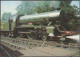 Southern Railway Class V 'Schools' 5P 4-4-0 No 928 Stowe - Steam Classic Postcard - Trains