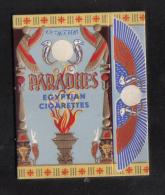 MALTA - PARADHES   PACKET OF 10 CIGARETTES  MALTA  1940 - - Empty Cigarettes Boxes