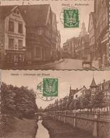 Giessen 1925 2 AK Walltorstrasse Und Löberstrasse Mit Wieseck - Giessen
