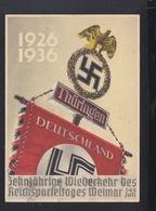 Dt. Reich PK 1936 Reichsparteitag Weimar - Parteien & Wahlen
