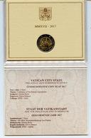 2017 - VATICANO - VATICAN -  -PONTIFICATO DI PAPA FRANCESCO - MONETA COMMEMORATIVA 2 EURO - ANNO 2017 - Vatican