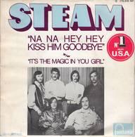 Disque 45 Tours Steam (Biem 1969 Fontana Série Parade) - Rock