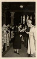 Postcard / ROYALTY / Luxembourg / Grande-duchesse Charlotte De Luxembourg / Consécration Basilique Echternach / 1953 - Grand-Ducal Family