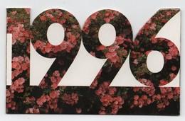 """Dompierre-sur-Mer (17139) - Calendrier Complet 1996 Magasin De """" L'Ile Aux Fleurs """" - - Calendarios"""