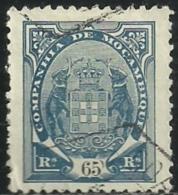 Mozambique Company Companhia De Moçambique 1895-1907 A2 Company Coat Of Arms Canc - Briefmarken