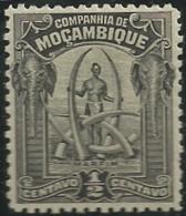 Mozambique Company Companhia De Moçambique 1918-31 A10 Man And Ivory Tusks Hinge Mark - Kostums