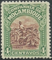 Mozambique Company Companhia De Moçambique 1918-31 A15 Tobacoo Field MNH - Agriculture
