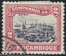 Mozambique Company Companhia De Moçambique 1918-31 A16 View Of Beira Canc - Other