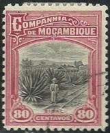 Mozambique Company Companhia De Moçambique 1918-31 A20 Sisal Plantation Canc - Agriculture