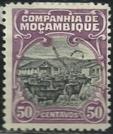 Mozambique Company Companhia De Moçambique 1918-31 A25  Cattle  Canc - Farm