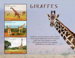 Tanzania 2017 Fauna Animals GIRAFFES  I201803 - Tanzania (1964-...)