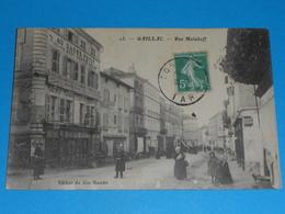 "81 ) Gaillac ; N° 13 - Rue Malakoff "" Au Gagne Petit "" Cycles , Coutellerie  : Année  : EDIT : Bon Marché - Gaillac"