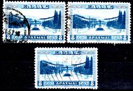 Grecia-F0272 - Emissione Del 1934 (o) - Dentellatura Differente - Senza Difetti Occulti. - Grèce