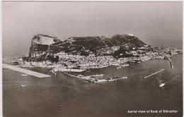 Vue Aérienne De Gibraltar,gibraltar From The Air,conquise à L'espagne  En 1704,aerial View Of Rock - Gibraltar