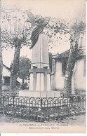 St. Vincent De Tyrosse - Monument Aux Morts - Saint Vincent De Tyrosse