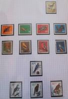 """Thématique """"Oiseaux"""" Timbres Obl. Et Neuf De La R.F.A. (3 Scans) - Collections, Lots & Series"""