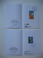 Document Des Postes De Polynésie    Pour Les Voeux De 1978 Et 1979  Papeete Tahiti - Polynésie Française